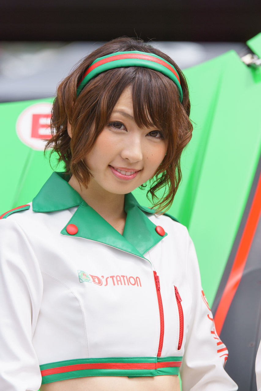 清瀬まち by D'STATION FRESH ANGELS at SUPER GT 2015 Okayama