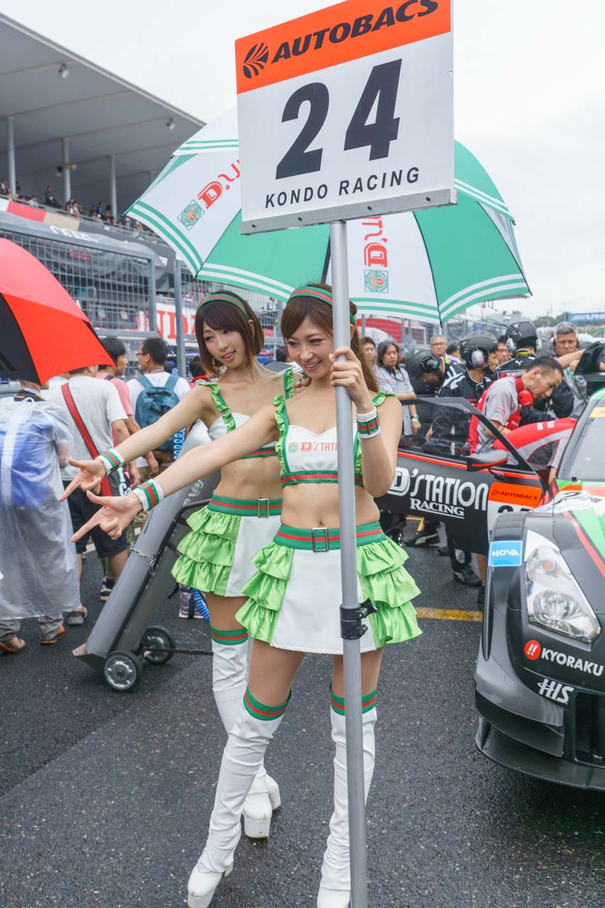 清瀬まち by D'STATION FRESH ANGELS at SUPER GT 2015 SUZUKA 1000km