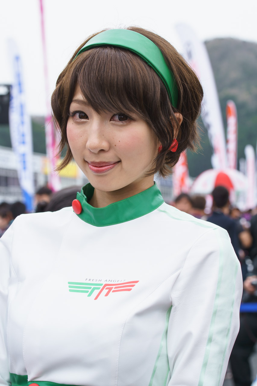 清瀬まち by D'STATION FRESH ANGELS at SUPER GT 2016 Okayama