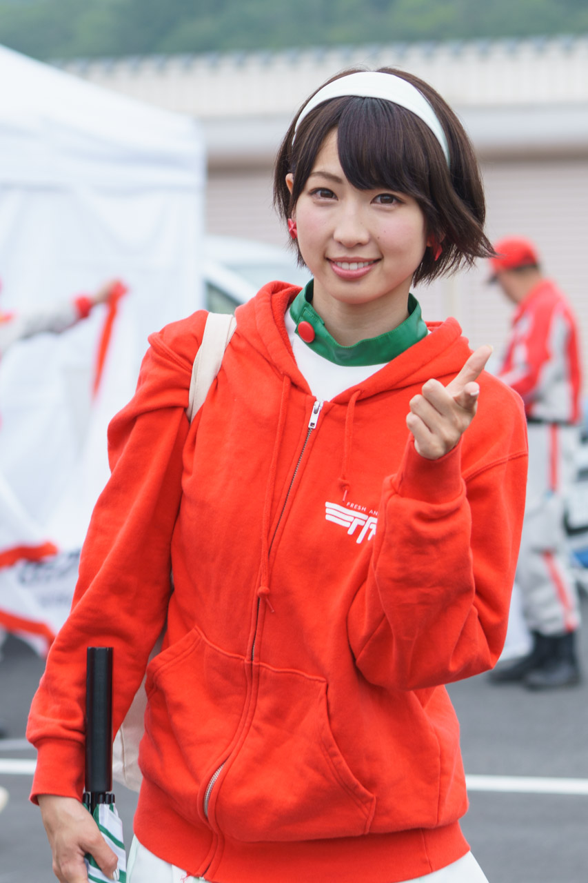 清瀬まち by D'STATION FRESH ANGELS at SUPER Formula 2016 Rd.2 Okayama