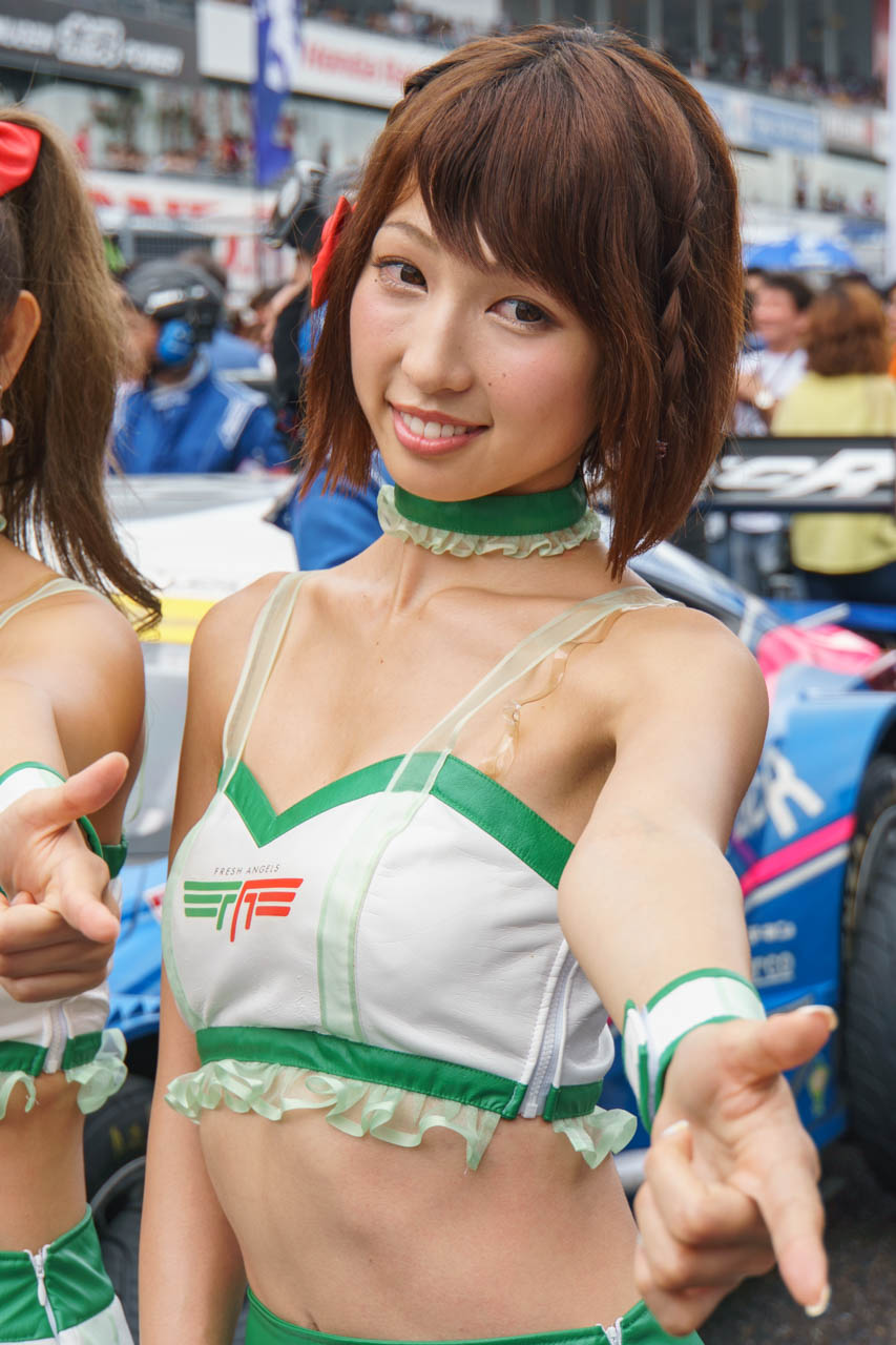 清瀬まち by D'STATION FRESH ANGELS at SUPER GT 2016 SUZUKA 1000km