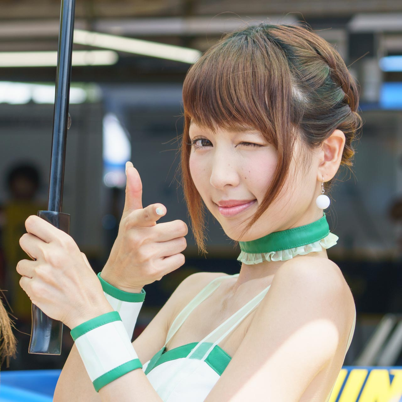 清瀬まち by D'STATION FRESH ANGELS at SUPER Formula 2016 Rd.5 Okayama